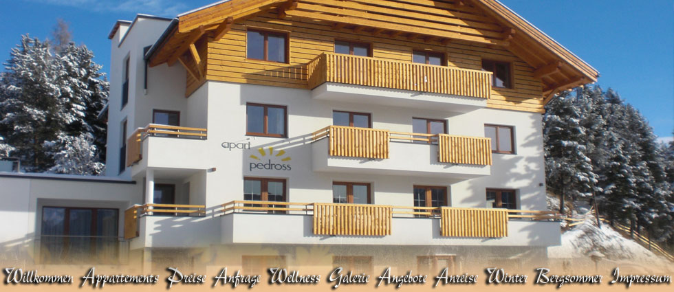 Apartments Vacation flats and rooms in the Haus Pedross in Serfaus at the Sun plateau in Tyrol